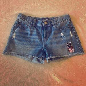 Old Navy Denim Embellished Shorts